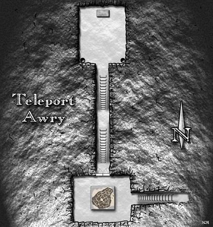 Sean Macdonald   Dungeon Magazine   Map from Dungeon Magazine 152